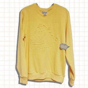 • Pusheen • NEW chef kitty oversized sweatshirt